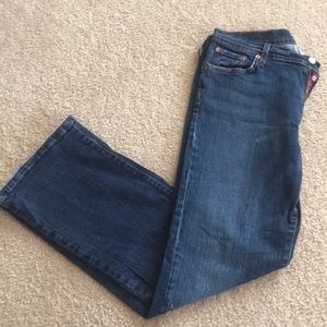 Lucky Brand Dungarees Classic Fit Bootcut Jeans
